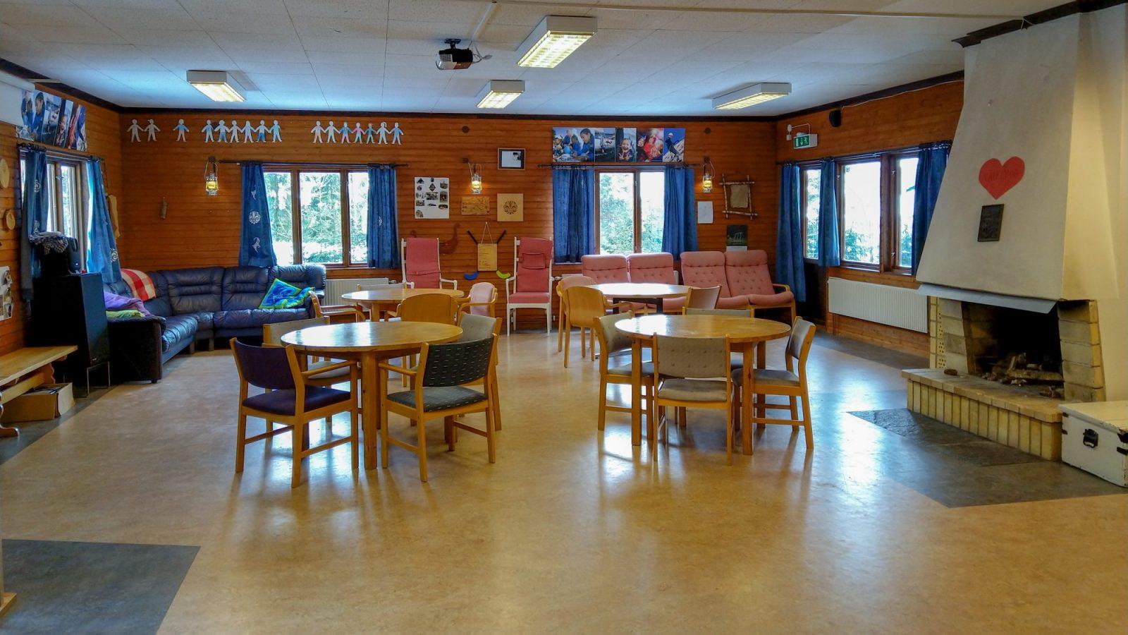 Scoutgården, samlingslokal