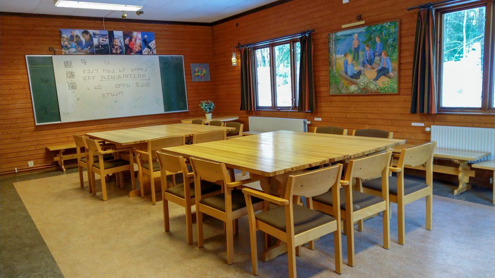 Scoutgården, sammanträdesrum