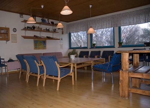 Ledarrummet: Sittplats för 15 personer, en bra möteslokal.