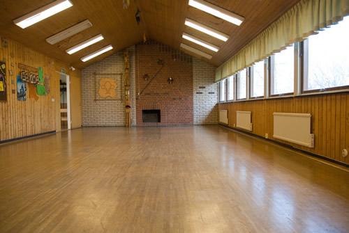 Stora Salen, det största av våra rum.