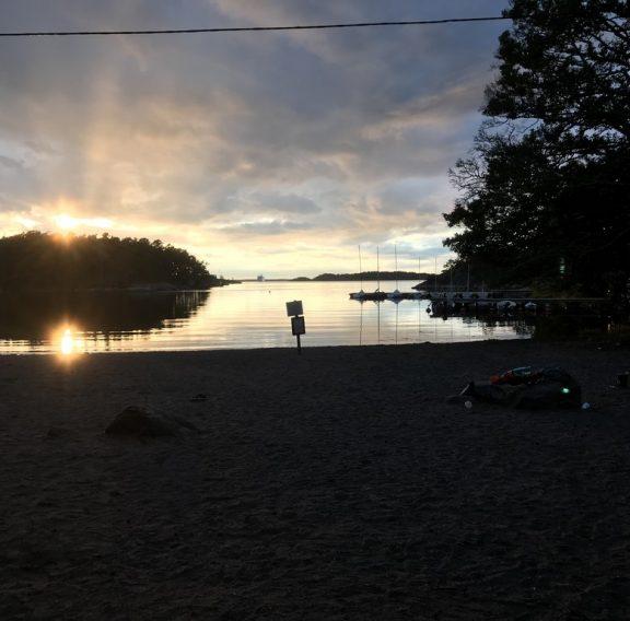 solnedgång kårlägret 2018