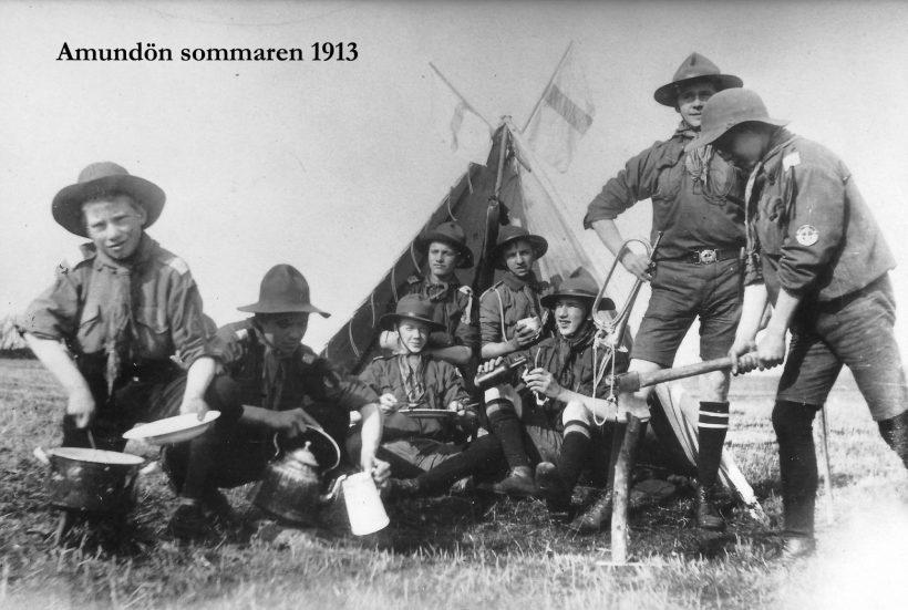 Amundön 1913