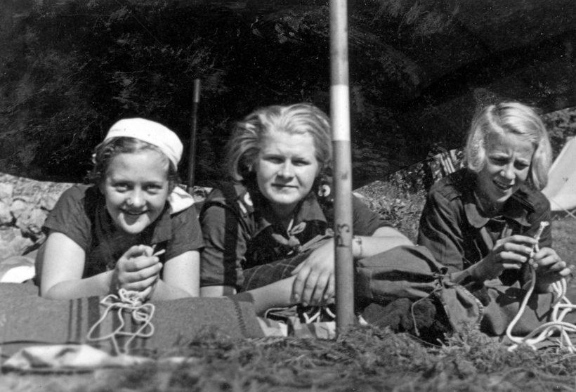 1936-06-07-flickscouternas-nionde-vrldskonferensen-rttvik-stockholm-foto-gunvor-boman