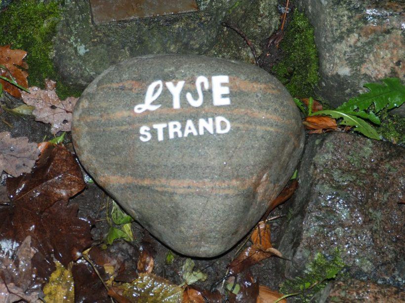 2019-11-14 Lysestrands Scoutkårs sten Scoutmonumentet