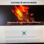 2020-04-07 Scouternas arkiv och museum Stockholm HEMSIDA