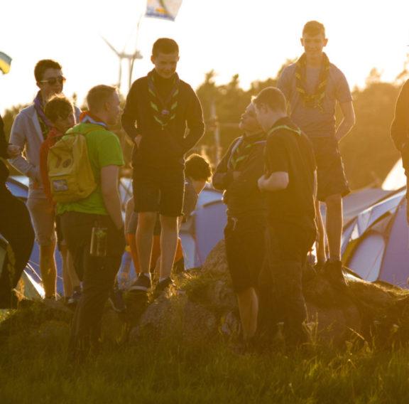 Barn och unga på Jamboree17